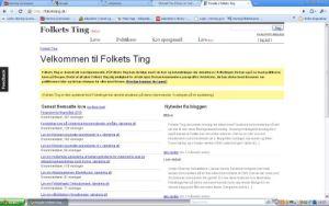Screenshot - Folkets Ting