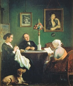 Maleri af Wilhelm Marstrand, 1870